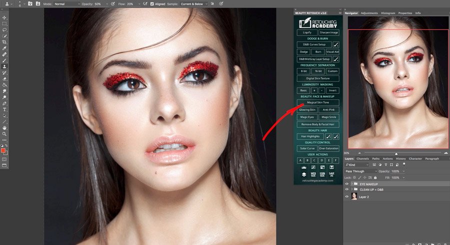 New Beauty Retouch v3.0 Panel Is Released!