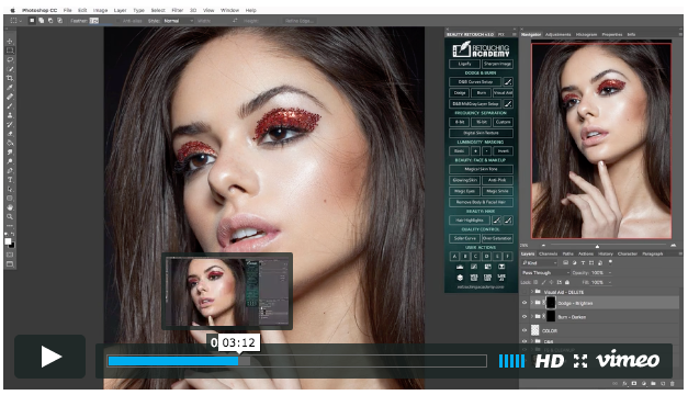 Beauty Retouch Panel Video Course: Lesson 1 is Out