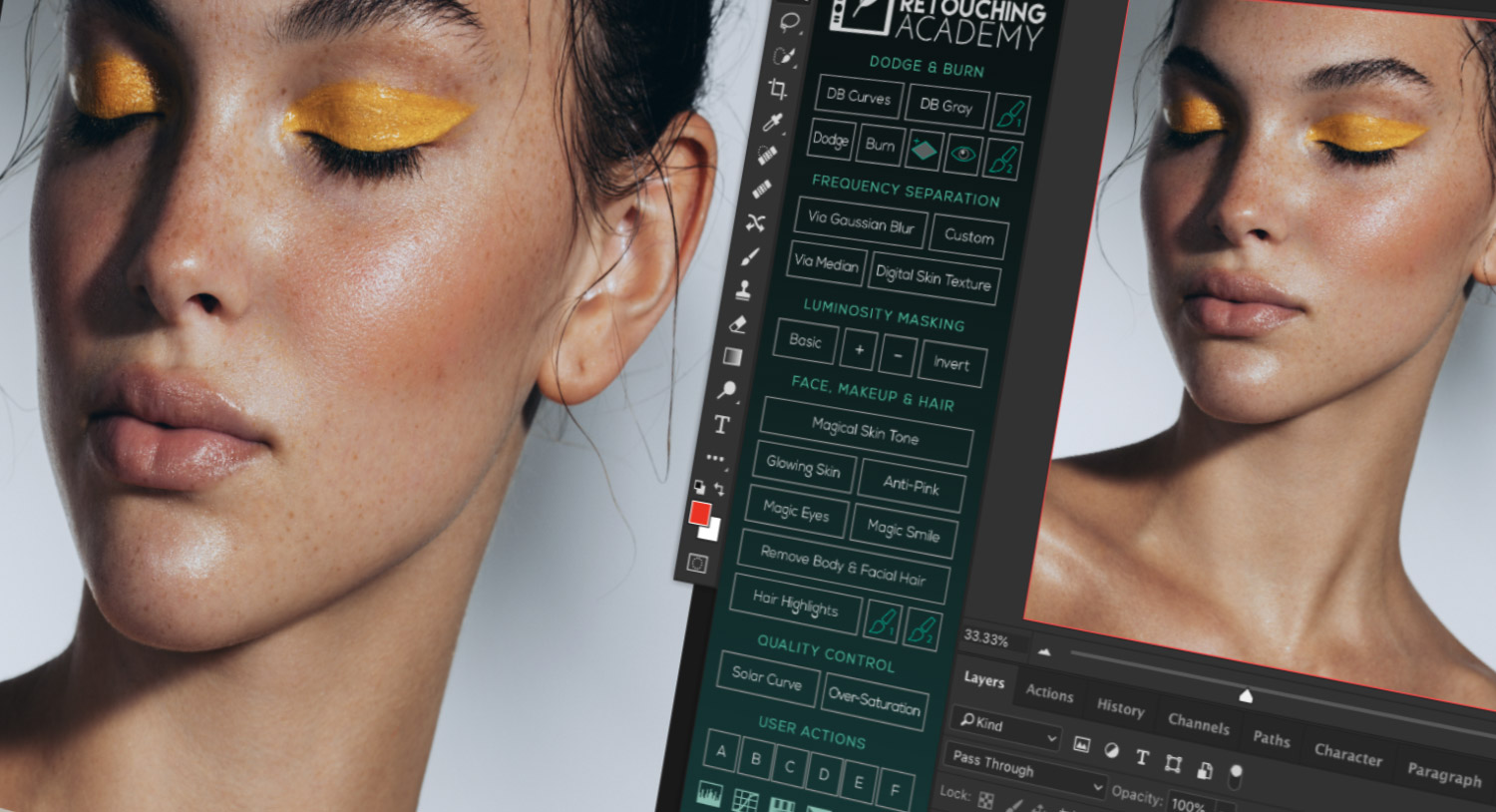 Beauty Retouch v3.3 Panel Update Beta Testing